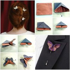 DIY Simply Crochet Butterfly with Free Patterns Useful Origami, Diy Origami, Origami Folding, Oragami, Simply Crochet, Easy Crochet, Crochet Butterfly Free Pattern, Origami Box Tutorial, Origami Instructions