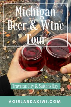 Michigan Beer & Wine Tour: Traverse City & Suttons Bay - A Girl and a Kiwi