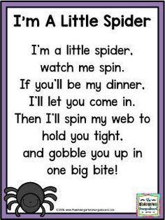 two poems or finger-plays using appropriate speaking strategies - preschool
