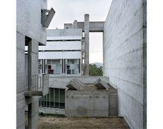 "Photography project documenting Le Corbusier's ""random and eccentric"" La Tourette."