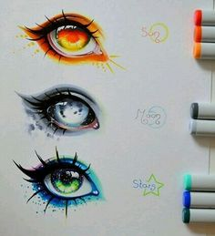Tattoo sketches 842454674022900209 - Sun moon stars and sky HEY BABY HEY WHAT YOU WANT! (studio c reference) ☄— Visit our art's shop here —☄ art art unbelievable art drawings art painting Source by JustAnHappyBoy Pencil Art Drawings, Cute Drawings, Drawing Sketches, Hipster Drawings, Random Drawings, Realistic Eye Drawing, Drawing Eyes, Baby Drawing, Drawing Drawing