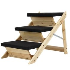 Folding 2-in-1 Pet Ramp & Stairs for Dogs Cats Pet Steps Ladder Animal Portable