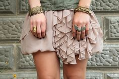 ruffles AND stacks. unh! @Jaqueleen Larson