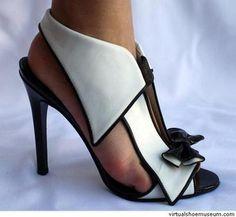 """""""Smoking"""" ~ 'tuxedo' shoes by Ana Paula Pereira, Hot Shoes, Women's Shoes, Me Too Shoes, Shoe Boots, Louboutin Shoes, Christian Louboutin, Dream Shoes, Crazy Shoes, Pretty Shoes"""