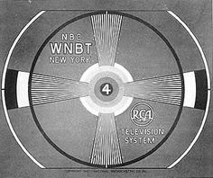 TV test patterns, came on when the station was off the air at night (yep no 24 hour programming)