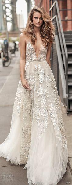 Berta Bridal Spring 2018 Wedding Dresses - Part 1