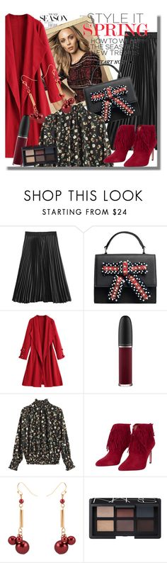 """""""Work wear"""" by pesanjsp ❤ liked on Polyvore featuring MAC Cosmetics and NARS Cosmetics"""