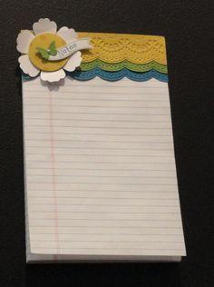 Delicate Designs Folder Notebook