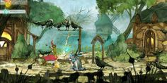 Child of Light behind the scenes - Artistically lush RPG Child of Light is getting ready to glide on in to PC and consoles on April 30. Ubisoft has posted a little behind-the-scenes trailer featuring the game's