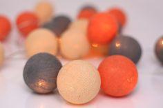 Peach marble, ljusslinga från Irislights