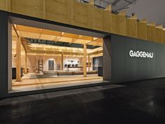 As an interpretation of a traditional rectangular farmstead, this booth was linked to the culinary trend of a return to traditional production methods and original authentic food. Amid conventionally styled booths, the stand opted for a distinct contrast by focusing on the topic and historical allusion of the tradition of manufacture. It showcased the elemental association of bread and wine, while the Gaggenau appliances were presented as tools in the culinary process.