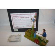 TUCHER WALTHER METAL-TIN GERMAN HIT THE HAMMER GAME IN BOX LIMITED EDITION VERY RARE1000