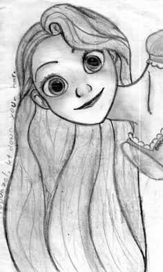Rapunzel by kiainne