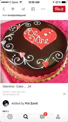 Valentine Cake Pictures Gallery [P. Cupcakes Design, Cake Designs, Valentines Day Desserts, Valentine Cookies, Cake Decorating Techniques, Cake Decorating Tips, Mini Cakes, Cupcake Cakes, Desserts Valentinstag