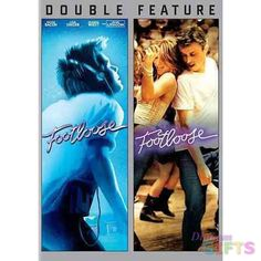 Available in: DVD.This two pack offers a double feature of the original 1984 dance film Footloose starring Kevin Bacon and the 2011 remake of the Id Music, Music Film, Footloose 2011, Close Caption, Big And Rich, Screen Test, Lets Dance, Me Tv, Scary Movies