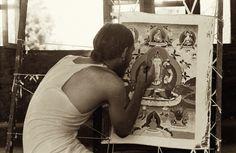 Terris Temple, Thangka Painting, ca 1968-1974