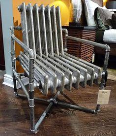 radiator stoel