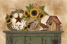 Sunflower Still Life (Linda Spivey)