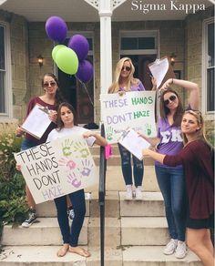 #SigmaKappa #DoveLove #ΣΚ #SigmaKappaDoesntHaze #RespΣΚt Sigma Kappa, Theta, Alzheimer's Association, University Of Denver, Sorority, College, University, Colleges
