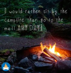 It is the best of times around the campfire! -This was the most popular post of 2013 for us and for good reason! Here's to more camping, more RVing and hours outdoors around the campfire! Camping Glamping, Camping And Hiking, Camping Life, Camping Meals, Camping Hacks, Camping Stuff, Family Camping, Outdoor Life, Outdoor Fun