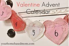 Valentine Advent Calendar {Activity Day Idea}