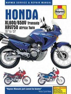 Haynes Honda Xl600/650v Transalp & Xrv750 Africa Twin '87 to '07 Repair…