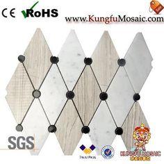 Mosaic Marble Bathroom Tiles Stone Mosaic Tile, Marble Mosaic, Mosaic Tiles, Marble Tile Bathroom, Travertine, Mosaic Pieces