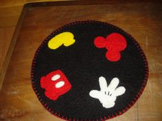 Your place to buy and sell all things handmade Felted Wool, Wool Felt, Pincushion Tutorial, Disney House, Penny Rugs, Felt Applique, Disney Style, Felt Crafts, Pin Cushions