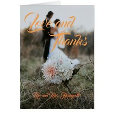 Wedding Thank You Cards - love cards couple card ideas diy cyo