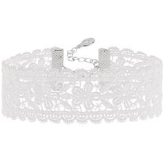 Accessorize Gigi Lace Choker Necklace ($16) ❤ liked on Polyvore featuring jewelry, necklaces, choker, choker necklace, floral jewelry, floral necklace, accessorize necklaces and lace jewelry
