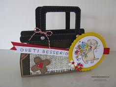 Gute Besserung Arzttasche Geschenkverpackung Spitalbesuch Krankenbesuch