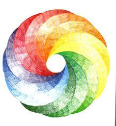 Geometric Drawing - 12 Intersecting Circles