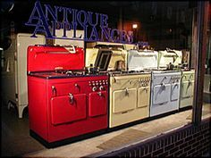 America's #1 site for restored vintage antique stoves and refrigerators