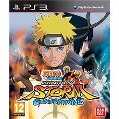 Naruto Shippuden : Ultimate Ninja Storm Generations - PlayStation 3, Combat (PEGI 12)