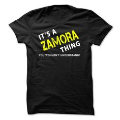 It is a ZAMORA Thing Tee