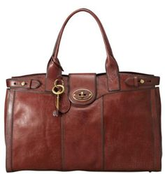 Amazon.com: Womens Leather Bags FOSSIL WOMEN BAG WOMAN VRI LTH WEEKENDER RST BRWN ZB5191932: Shoes