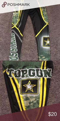 Top Gun All Stars 005 Leggings Team Practice No flaws- SIZE AL  Brand new  Never worn  Nfinity Cheerleading Cheer Dance Worlds Summit Topgun Top Gun All Stars Varsity Chasse Rebel Athletic Cheer Bow Sneakers TG Cheer Athletics Stingrays World Cup Other
