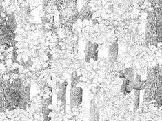 Core of Nature - Wall Mural & Photo Wallpaper - Photowall Wallpaper Paste, Wallpaper Samples, Custom Wallpaper, Wall Wallpaper, Nature Photo Wallpaper, Create Your Own Wallpaper, Wallpaper Companies, Standard Wallpaper, Perfect Wallpaper