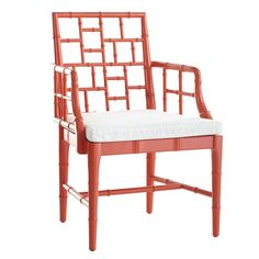 Chinese Chippendale Chair – White