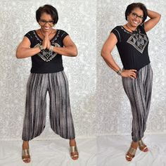 Sew to Fit: Vogue 1355 #pant pattern by Sandra Betzina.  If you need a pair of absolutely quick and fun pair of pants to wear, this is the one.  At first I thought that extra fabric hanging between my legs would drive me crazy, but I haven't really felt it.  Ohhh!!!  I have worn then these pants way too much.  So, I guess that means I need to hurry and make another pair really soon. FABRIC:  I used the lightest of weight rayon jersey from JoAnns. RECOMMEND?? Absolutely!!