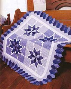 """From the book, """"Quilting for Christmas"""" by Leisure Arts (Connecting Threads)"""