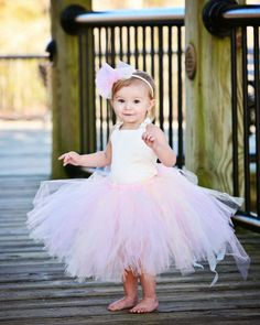 Blush Ivory Flower Girls Tutu Dress. I'm pretty sure I could look at flower girl dresses all day long :)