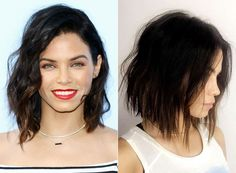 Now this is how you confirm your status as president of the Hollywood lob club. Jenna Dewan Tatum is one of our favorite stars that rocks the shoulder-grazing cut, and over the weekend she made a subtle change to her style to give her signature lob just a little something extra. Over the weekend Tatum