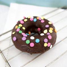 Donas de chocolate, horneadas, fáciles y rápidas! Receta en elartedelbuenvivir.com