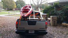Kayak truck bed rack.