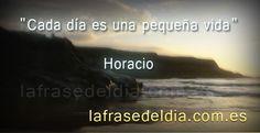 Frases Horacio en imágenes