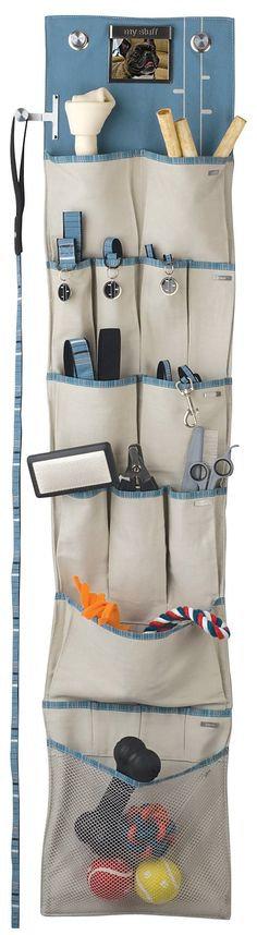 Wall Hanging Pet Organizer by Yep Yup. This will certainly be necessary if the pugs get everything they want on their holiday lists!