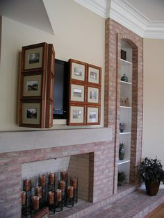 TV Cover Up   Wye River Waterfront   Traditional   Living Room   Dc Metro    By Gina Fitzsimmons ASID