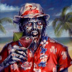 zombie Jimmy buffet