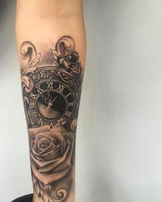 pocket watch tattoo70
